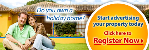 Advertise for your holiday rental villa or apartment for private lettings from owners direct for only £69 a year