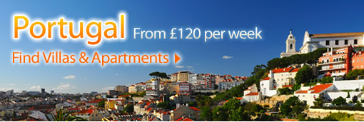Self-catering villas and apartments in Portugal, Central Algarve, Vilamoura, Albufeira, Carvoeiro, Almancil, Lagoa, Quarteira, Quinta do Lago, Vale do Lobo